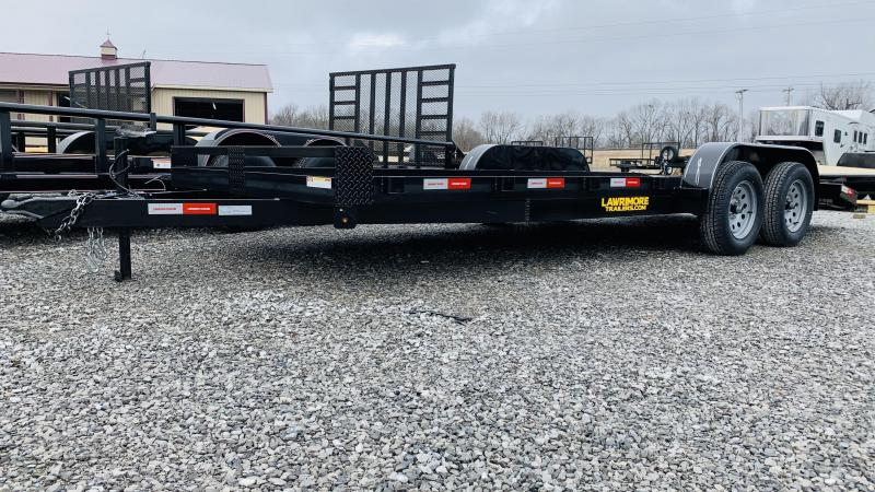 2021 Lawrimore 83x20 DC Car / Racing Trailer