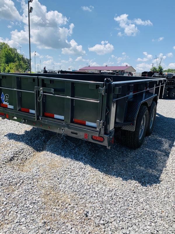 2021 Diamond C Trailers 21 DC 16x82 Low Pro Dump Trailer Dump Trailer