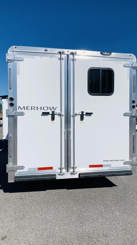2021 Merhow Trailers Stampede 8314-B RWS Horse Trailer