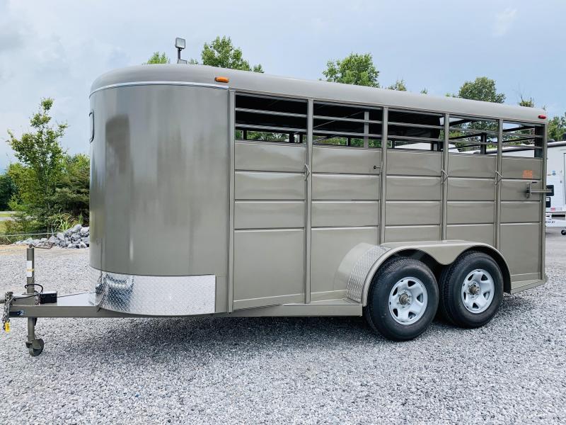 2021 Calico  BP STOCK TRAILER Livestock Trailer