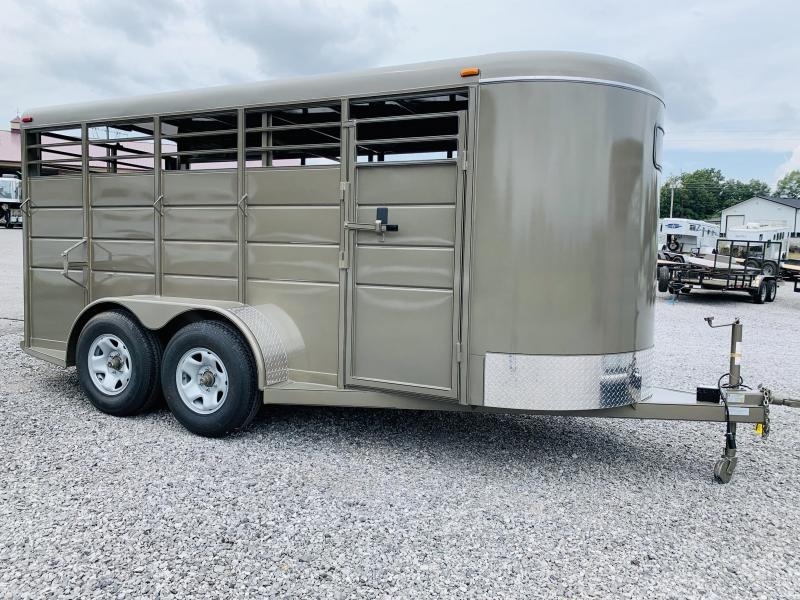 2021 Calico  BP STOCK TRAILER Livestock Trailer