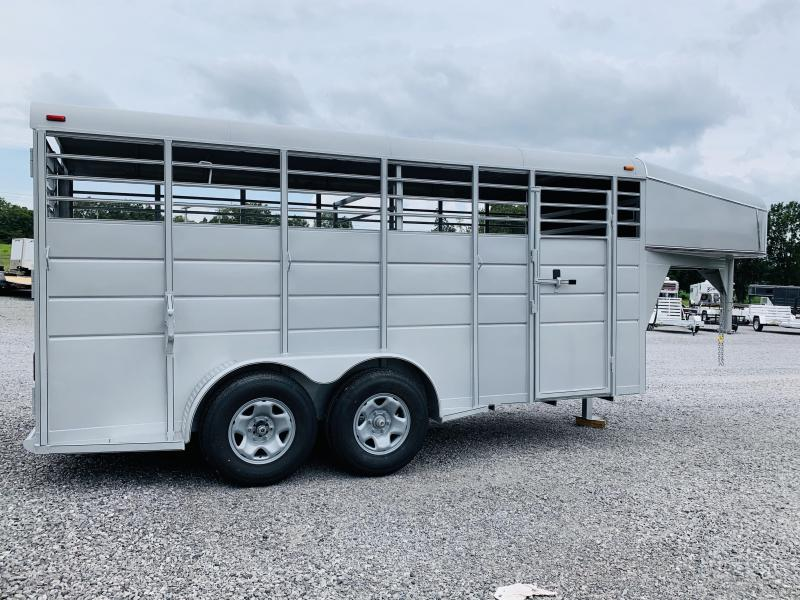 2021 Calico Trailers GN STOCK Livestock Trailer