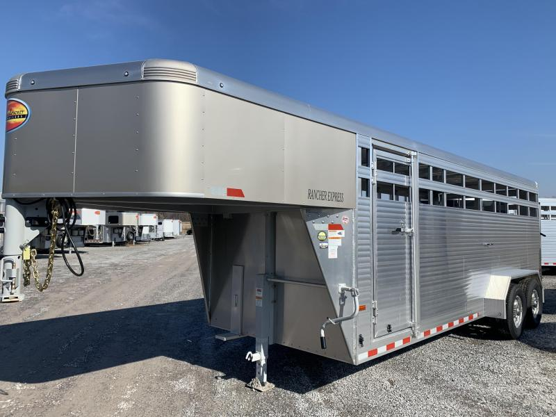 2020 Sundowner Rancher Express 20' GN Livestock Trailer