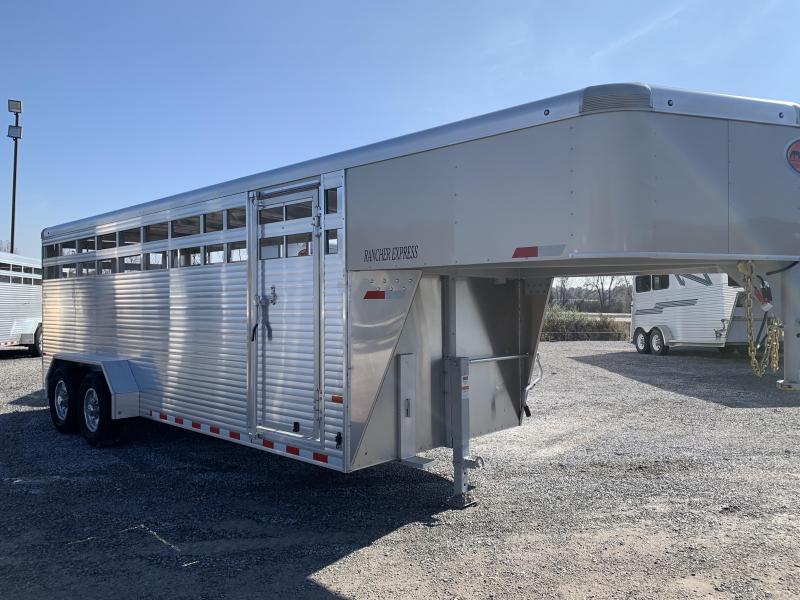 2020 Sundowner Rancher Express 20' GN Livestock Trailer