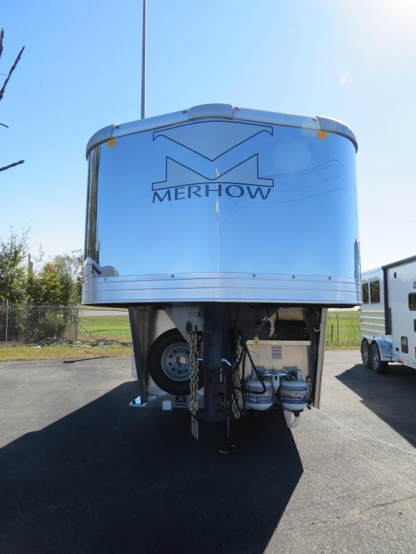 2021 Merhow Trailers 7307 NS GN Horse Trailer