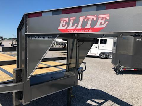 2020 Elite GN 20+5 Deckover Equipment Trailer