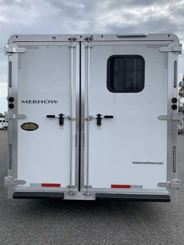 2020 Merhow Trailers 8312 BC-SL Horse Trailer