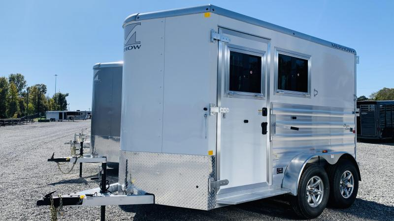 2021 Merhow Trailers 2H SL BP Horse Trailer