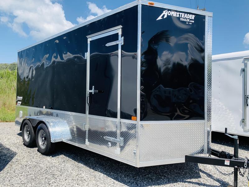 2021 Homesteader Trailers 21 HS 716 IT O H V PKG Enclosed Cargo Trailer