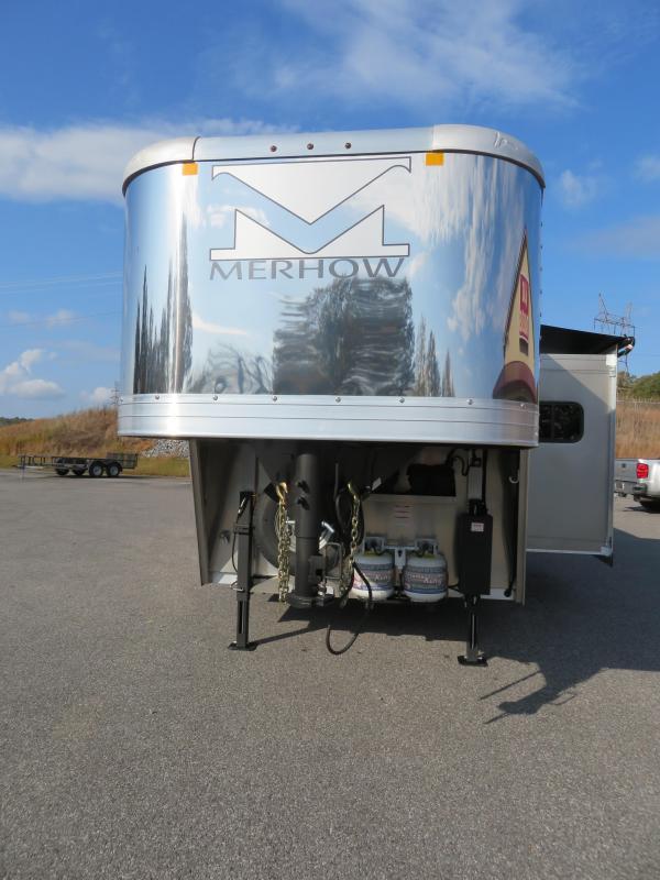 2021 Merhow  8314 RWS Horse Trailer
