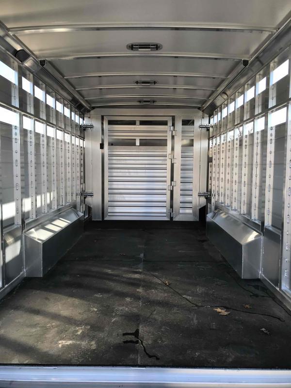 2021 Cimarron Trailers 3H-13'-8 W-SLIDE