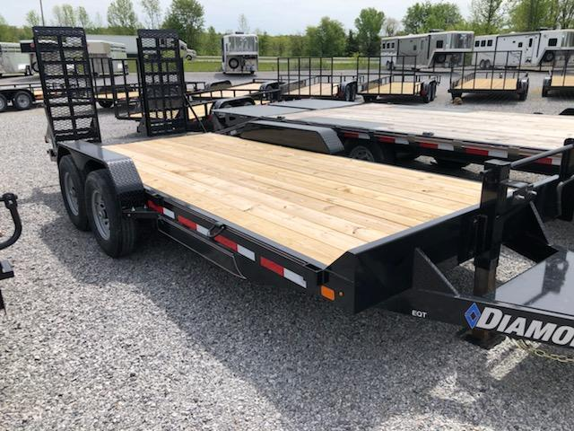 2020 Diamond C Trailers EQT207-18x82 Equipment Trailer