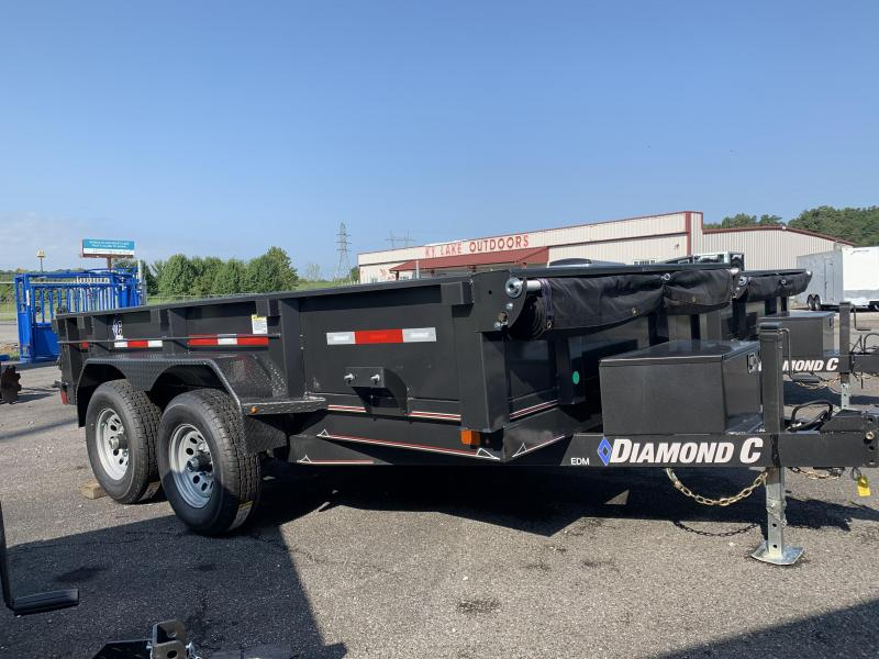2020 Diamond C Trailers 77x12 Dump Trailer