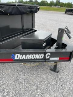 2021 Diamond C Trailers 21 DC 14x81 Low Pro Dump Trailer Dump Trailer
