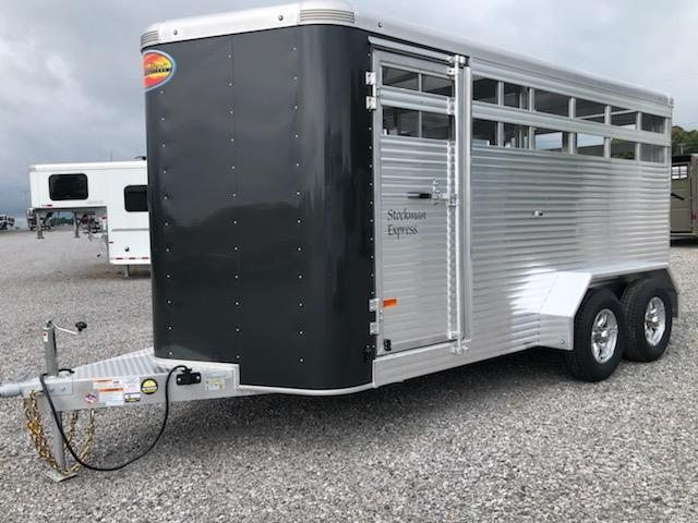 2021 Sundowner Trailers 16' Stockman Express Livestock Trailer