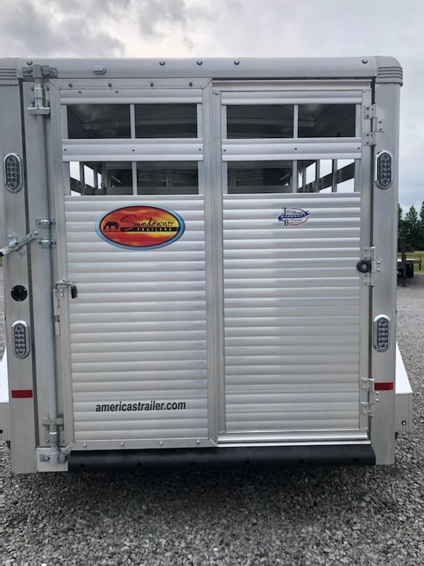 2021 Sundowner Trailers 16' Stockman Express Livestock Trailer
