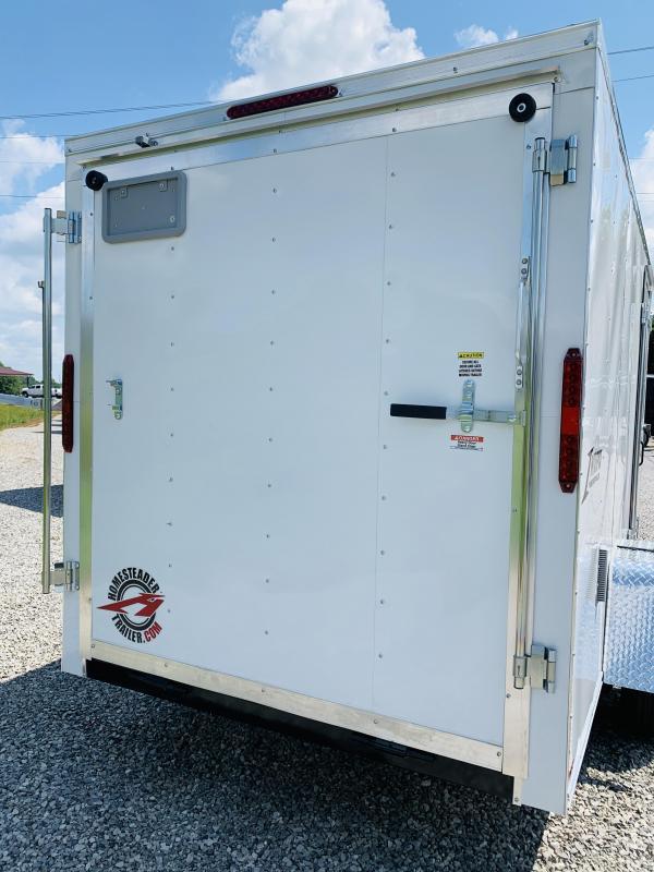 2021 Homesteader Trailers 21 HS 612 IT 6ft Enclosed Cargo Trailer