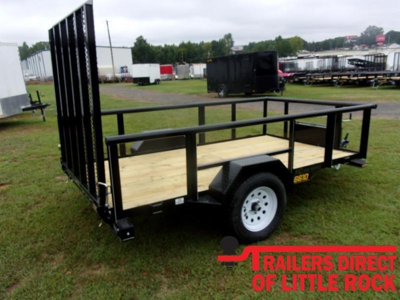 2021 Doolittle Trailer Mfg 66x10 Single Axle 3K Utility Trailer