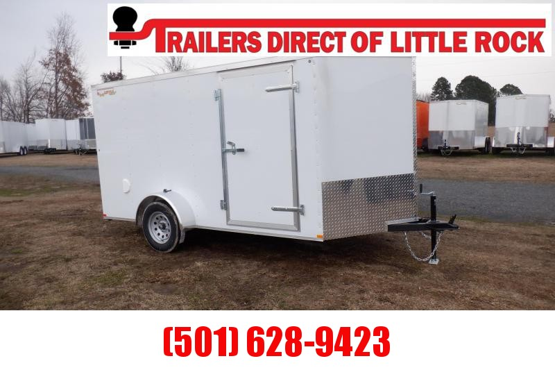 Doolittle RS cargo 6x12 Single Axle with ramp