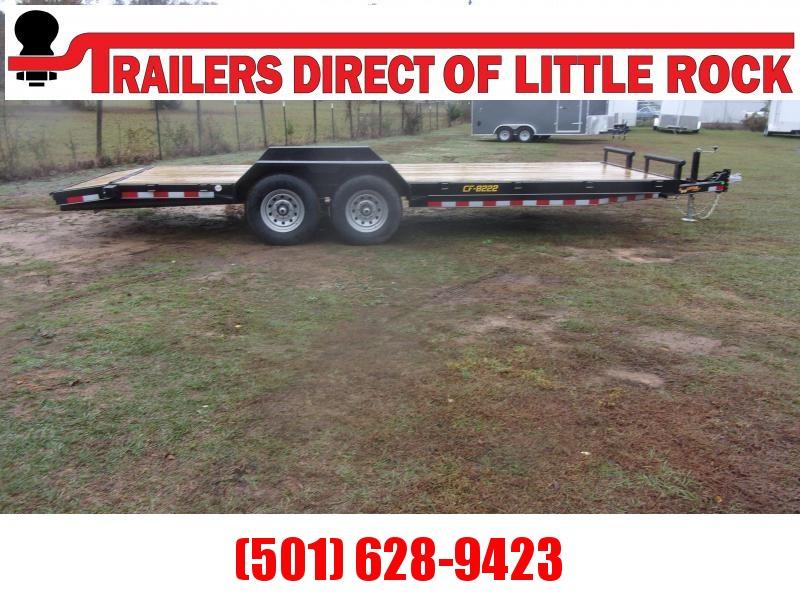 2021 Doolittle 82X22 Channel Flatbed 14K Equipment Trailer