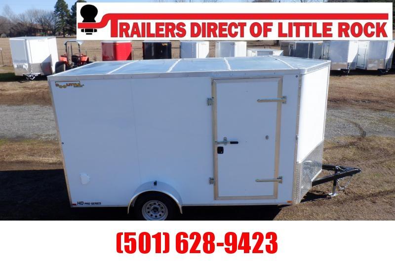Doolittle  Premier 7x12 Enclosed Cargo Trailer Rear Ramp
