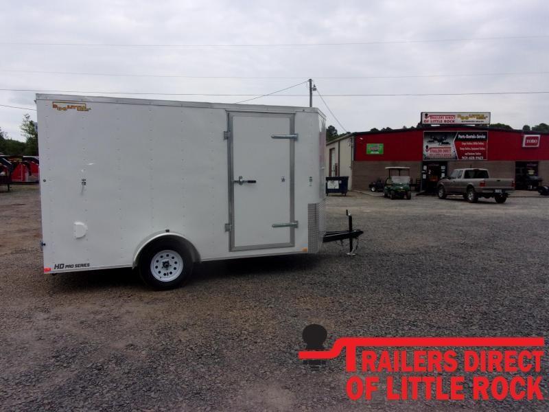 2020 Doolittle Trailer Mfg Bullitt 7' Wide Single Axle 3K Enclosed Cargo Trailer
