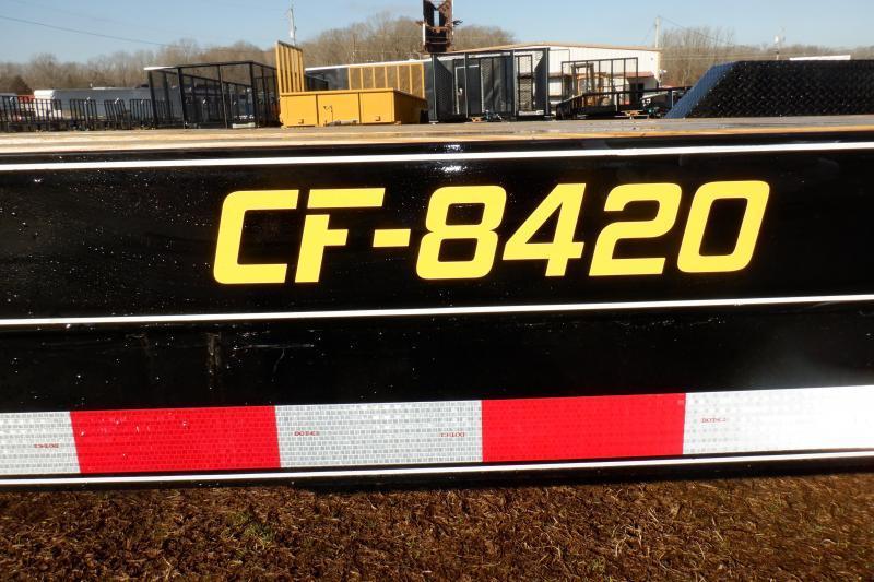 Doolittle CF 84x20 10K gvwr  Equipment Trailer