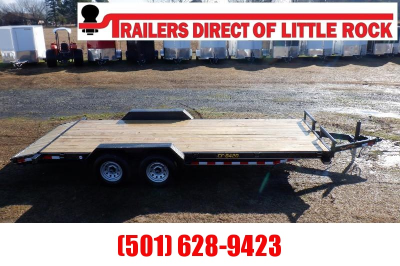Doolittle CF 84x20 10K gvwr  Equipment Trailer