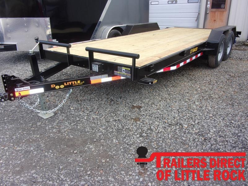 2020 Doolittle Trailer Mfg Channel Flatbed 82x20 14K Equipment Trailer