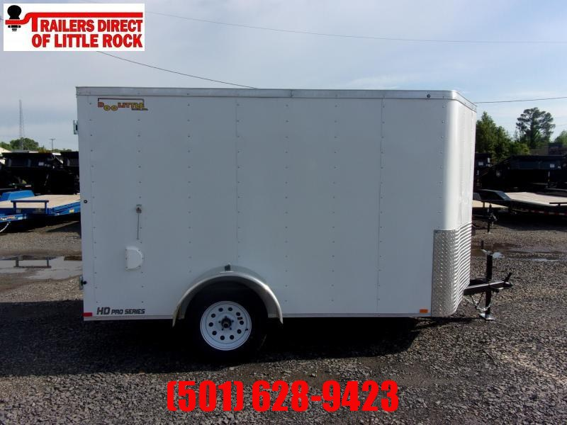 Doolittle Bullitt 6x10 Enclosed Cargo Trailer BARN DOOR