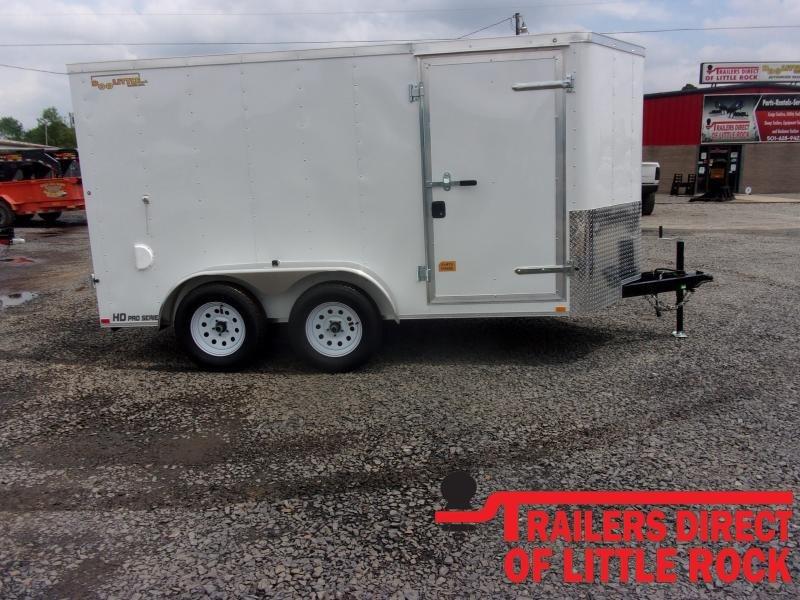 2020 Doolittle Trailer Mfg Bullitt 6x12 Tandem Axle 7K Enclosed Cargo Trailer