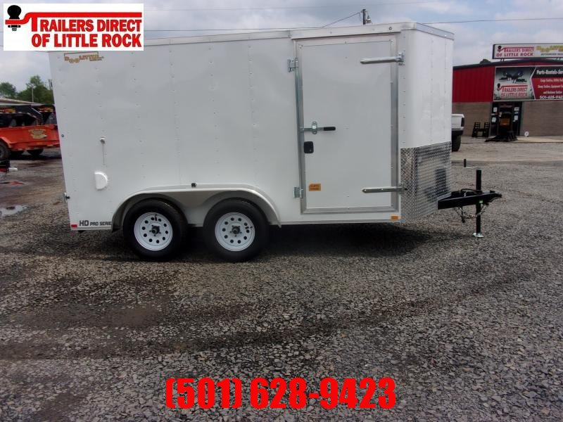 2020 Doolittle Trailer Mfg Bullitt 6x12 Tandem Axle 7K Enclosed Cargo Trailer