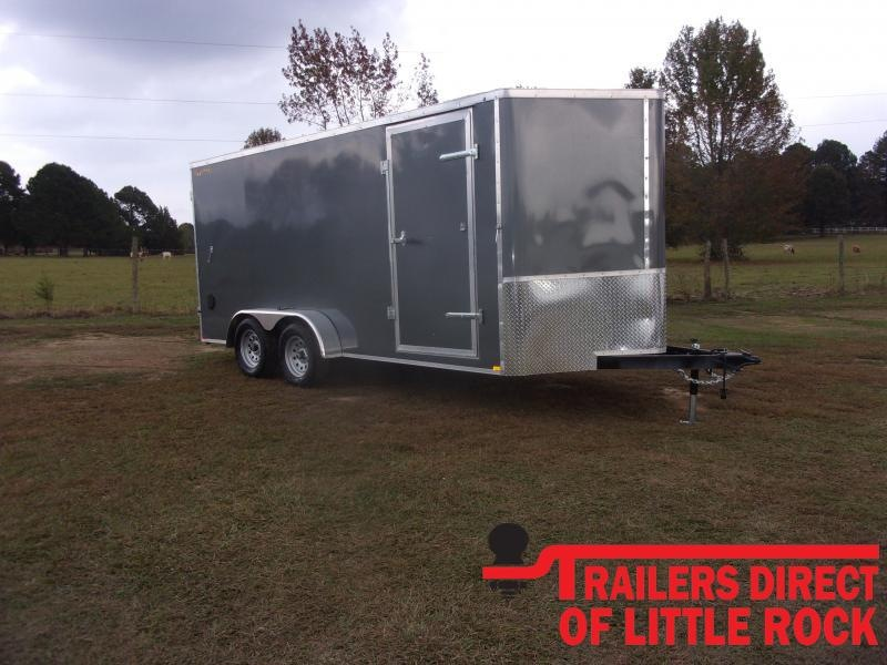 2021 Doolittle Trailer Mfg Bullitt 7' Wide Tandem Axle 7K Enclosed Cargo Trailer