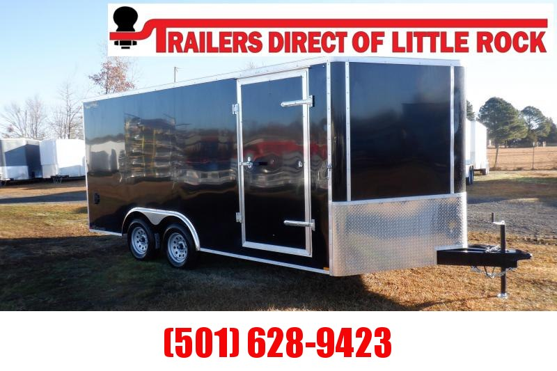 Doolittle  Bullitt 8.5X16 7K Enclosed Cargo REAR RAMP