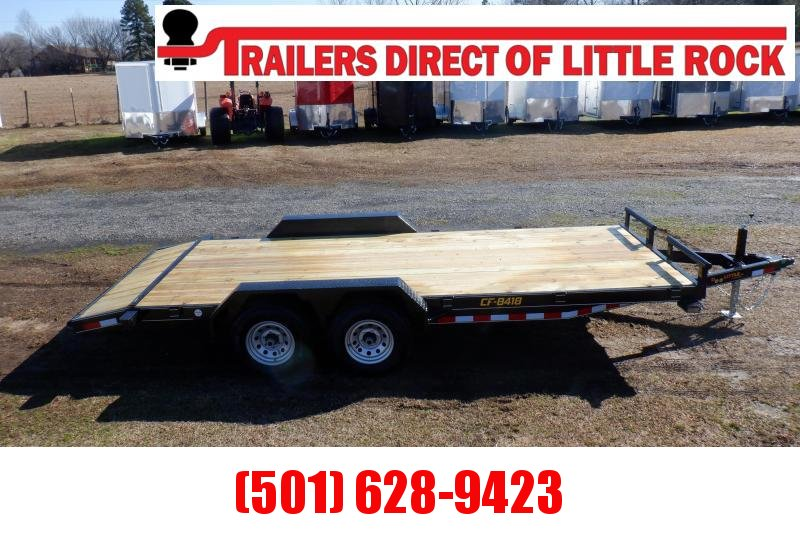 Doolittle Channel Flatbed 84x18 10K Equipment Trailer