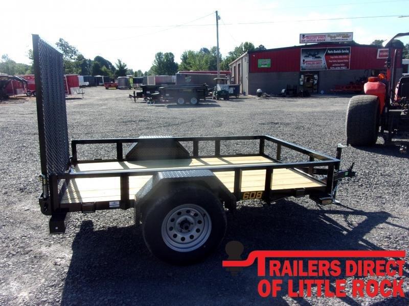 2020 Doolittle Trailer Mfg Rally Sport 60x8 3K Single Axle Utility Trailer
