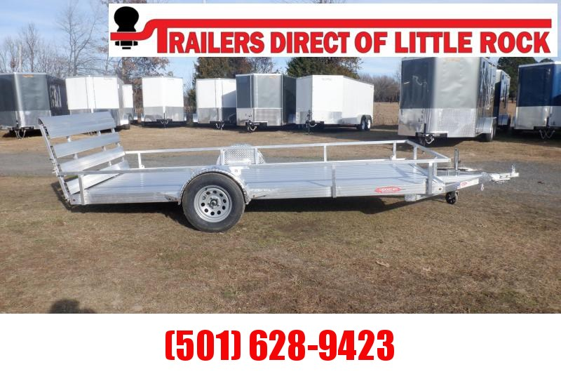 Cherokee Trailers 76X14 SOLID FLOOR Utility Trailer