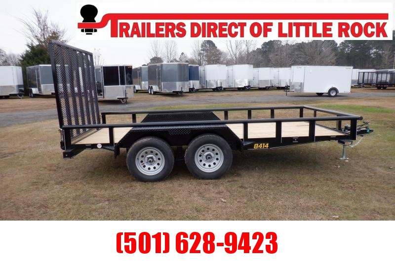 Doolittle 84X14 7K Utility Trailer 5' EZ-LIFT GATE
