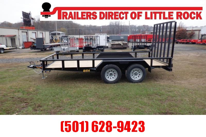 Doolittle 84X14 7K Utility Trailer 5' EZ-LIFT GATE