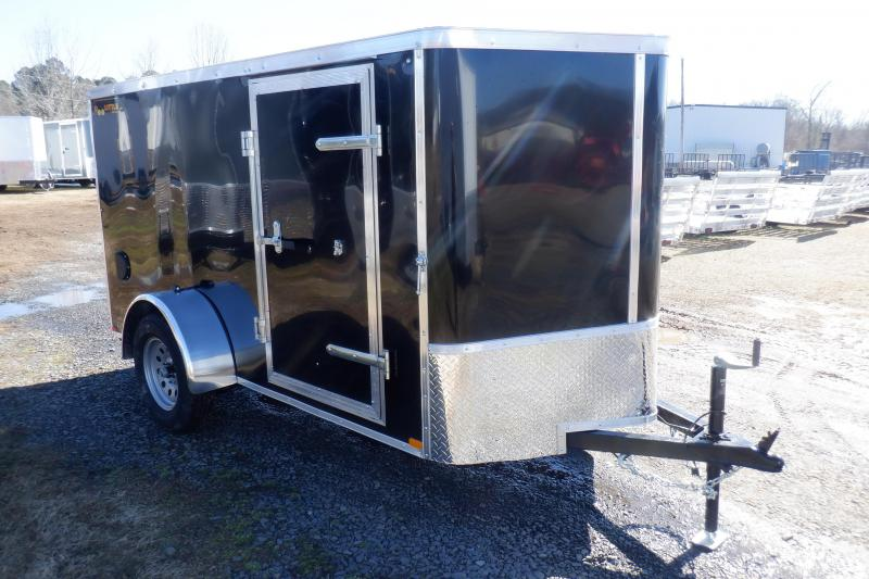 Doolittle 5x10 Enclosed Cargo Trailer rear ramp