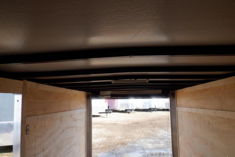 Doolittle 5x10 Enclosed Cargo Trailer rear ramp