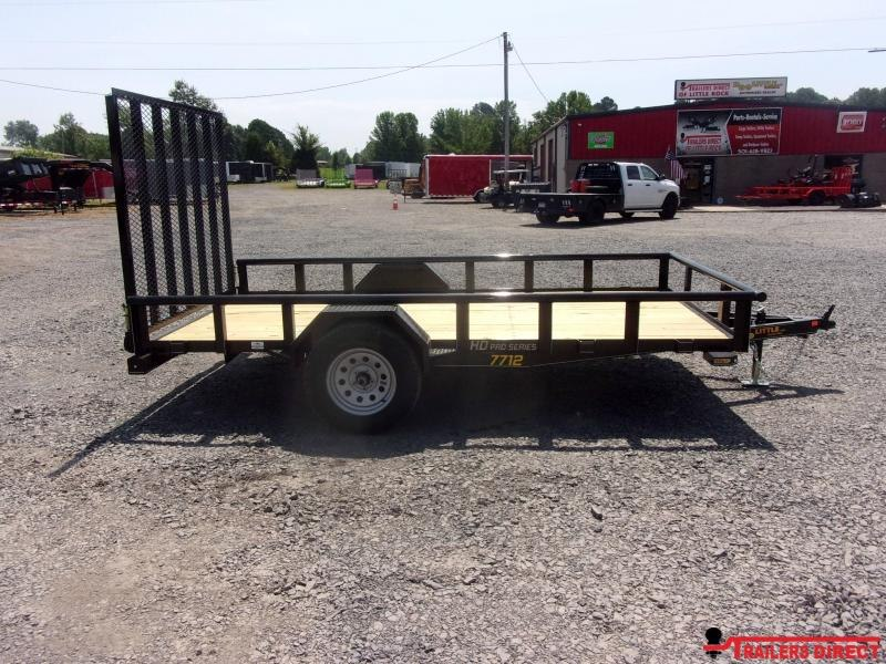 2020 Doolittle Trailer Mfg 770 Series Single Axle 3K Utility Trailer