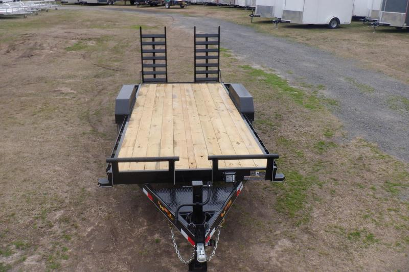 Doolittle xtreme 82x20 14K GVWR Equipment Trailer flip up ramps