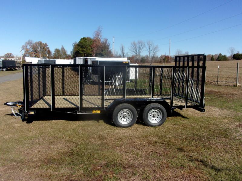 Doolittle 84x16 4' mesh sides 5' EZ-Lift gate 7K gvwr