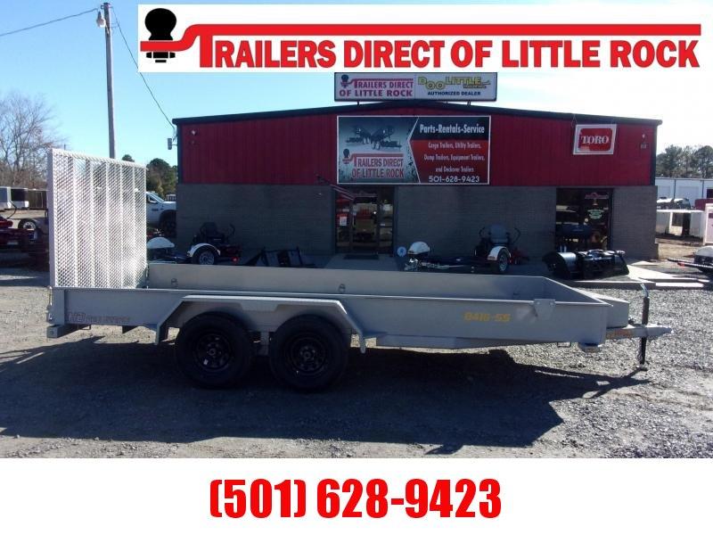 Doolittle 84 x 16 7k GVWR  TOOL BOX 5' EZ-LIFT GATE