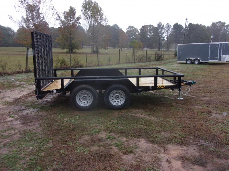 Doolittle 77X12 PIPE TOP UTILITY 7K  GVWR DOVE TAIL EZ LIFT GATE