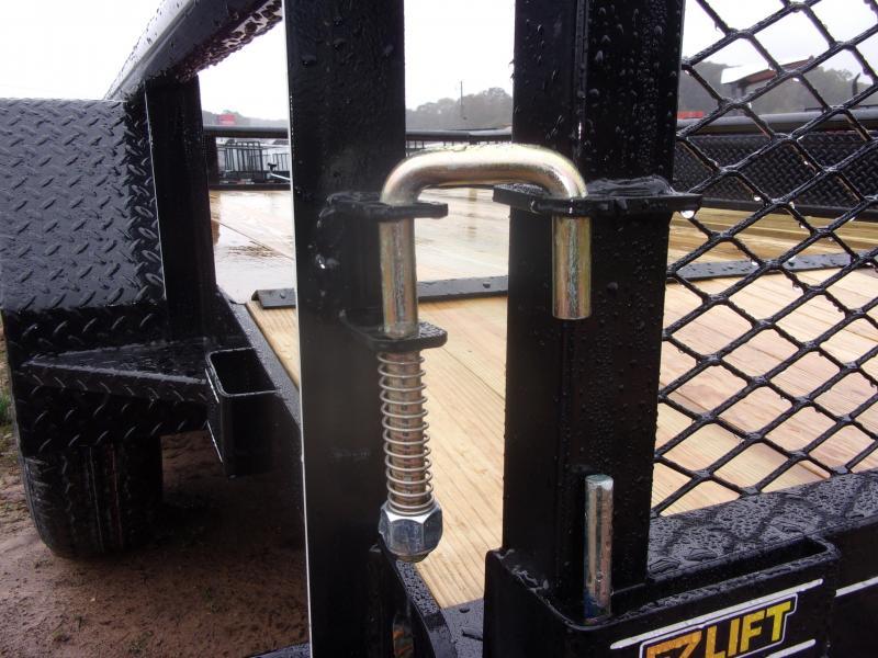 Doolittle 77X12 PIPE TOP UTILITY 7K  GVWR DOVE TAIL EZ LIFT GATE