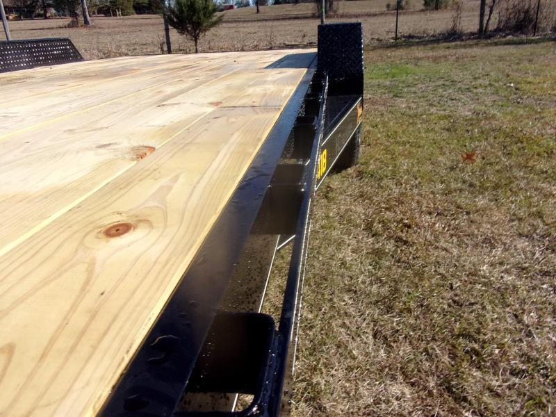 Doolittle Xtreme 84X18 7K Equipment Trailer SELF CLEAN DOVE TAIL