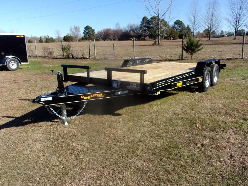 Doolittle Xtreme 84X18 7K Equipment Trailer SELF CLEAN DOVE TAIL