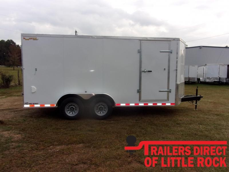2021 Doolittle Trailer Mfg Bullitt 7' Wide Tandem Axle 10K Enclosed Cargo Trailer
